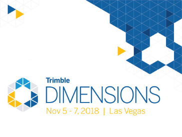 Trimble Dimensions User Conference 2018