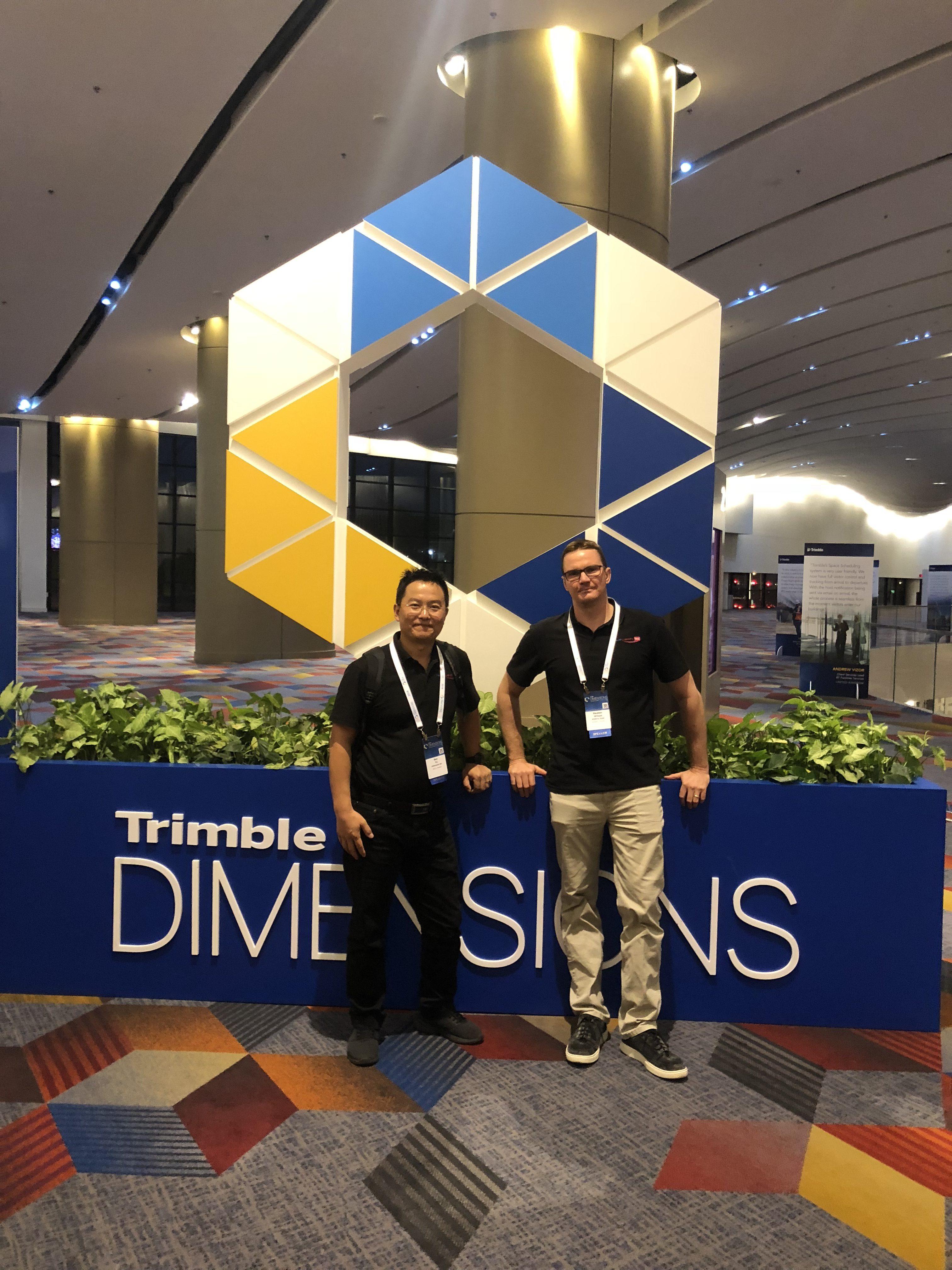 Holovision 3D Trimble Dimensions 2018
