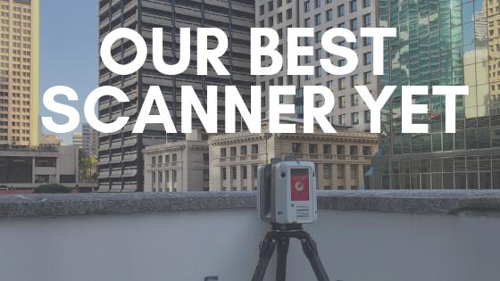 New Leica 3D Laser Scanner